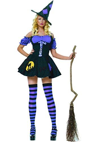 chiber Disfraces Disfraz de Bruja Piruja Mujer. Talla nica (S/M)