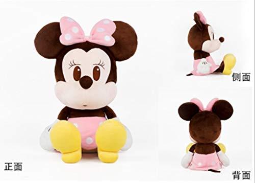 Peluche poupée Oreiller Jouet de Mickey Mouse,Q Version de Minnie 30cm,30cm