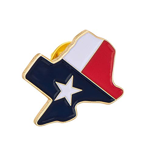 Texas TX State Lapel Enamel Made of Metal Souvenir Hat Men Women...