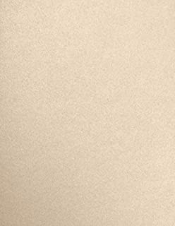 """$135 » LUXPaper 8.5"""" x 11"""" Paper for Crafts and Printing in Taupe Metallic, Scrapbook and Office Supplies, 500 Pack (Taupe)"""