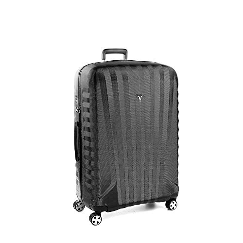 Roncato Maleta Grande L Rigida E-Lite - cm. 80.5 x 53 x 28 Capacidad 114 L, Ligero, Organización Interna, Cierre TSA, Garantìa 10 años