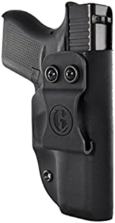 On Your 6 IWB Holster for: Glock 19,23,32 RT Hand -Handmade in The USA, Slim, Light Weight ADJ Cant