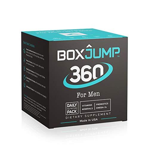 Complete Daily Nutrition Packs for Men - Made Man 360 - Men's Vitamin