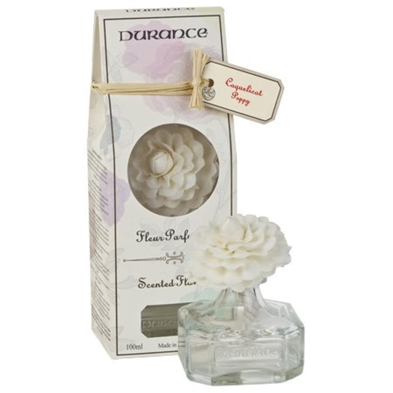 供給バブル脚本家DURANCEデュランス カメリアフラワーブーケ100ml コクリコの香り ルームフレグランス 芳香剤