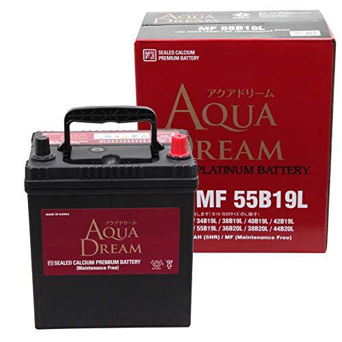 AUQA DREAM(アクアドリーム) 充電制御車対応 CAR BATTERY AD-MF 55B19L