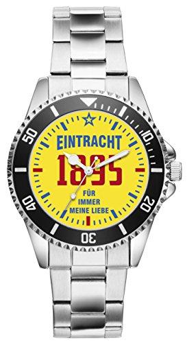 Eintracht Geschenk Artikel Idee Fan Uhr 11009