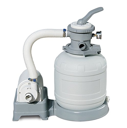 SUMMER WAVES 10' Sand Filter Pump for Above Ground Pools