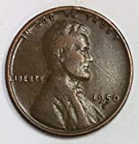 1950 D Lincoln Wheat Penny Average Circulated Good to Fine