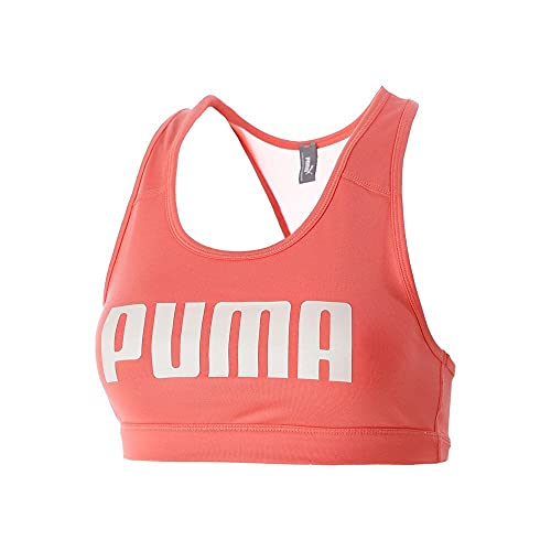 PUMA Mid Impact 4Keeps Bra Brassière Femme, Rouge, FR : M (Taille Fabricant : M)