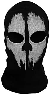 cod skull face mask