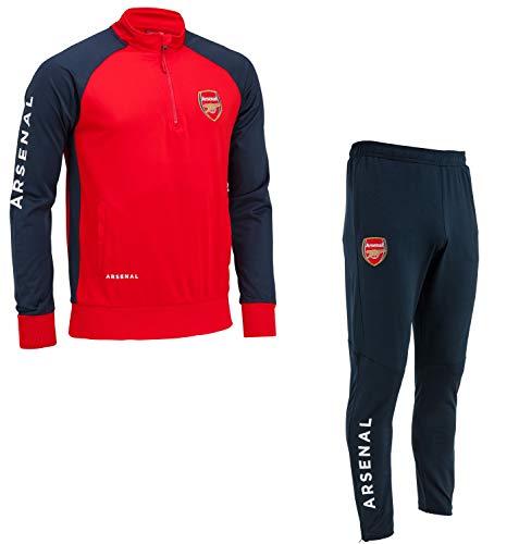 Gilles Cantuel Chándal Training fit Arsenal FC - Colección Oficial - Talla de Hombre