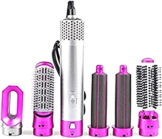 Hair Dryer Brush - Electric Styling Hair Dryer, Portable 5 in 1 Hot Air Brush Blow Dryer, Hair Curling Iron Rotating Brush...