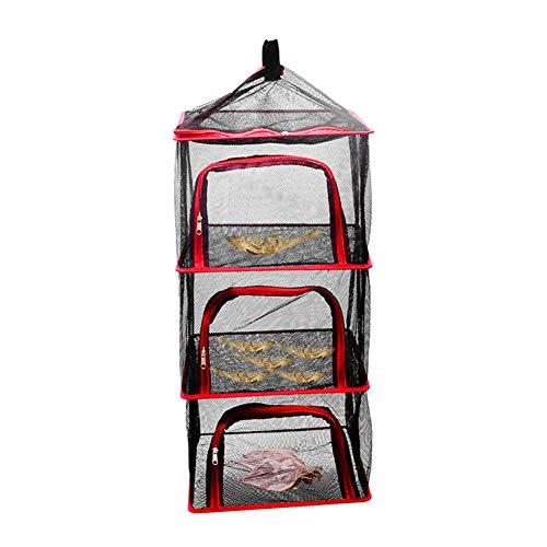 Droognetten Voor Het Ophangen Van 4 Lagen Groenten, Fruit, Voedsel, Droognet, Opbergzakken Voor Het Drogen Van Keukengerei, Hangmand Voor Kamperen, Reizen, Vissen