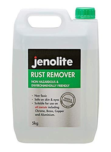 Jenolite Rostentferner Nicht gefährlicher Rostlöser - Umweltfreundlich - 5L