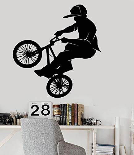 Tianpengyuanshuai fiets extreme sport PVC vinyl muursticker kunst decals slaapkamer huishoudtextiel