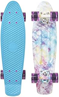 "Penny Skateboard(ペニースケートボード) PENNY GRAPHICS COMPLETE 22"" 0PGR3 CRACKED DYE 全長22インチ(約56cm)、幅約15cm"