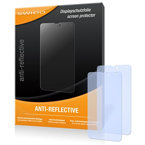 SWIDO X036203 Anti-Reflective Bildschirmschutzfolie für Hisense HS-U970E-8 (2-er Pack)