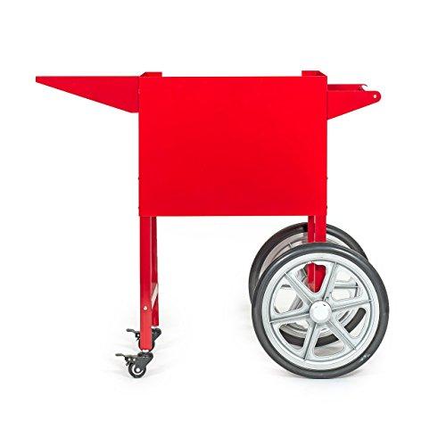 Wagen für Popcornmaschine, rot