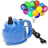 Bomba de globo Signstek Inflador eléctrico de 300 vatios para globos (Azul)