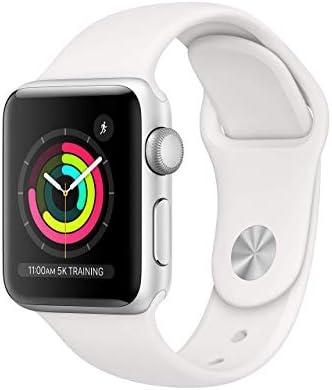 (Refurbished) Apple Watch Series 3 (GPS, 38MM)...