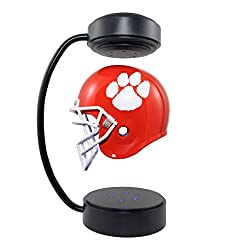 Clemson Tigers NCAA Hover Helmet - Collectible Levitating Football Helmet with Electromagnetic Stand