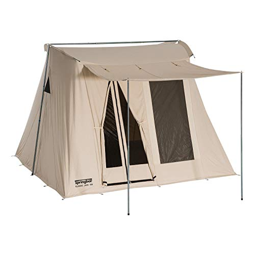 Springbar Classic Jack 100 | 10x10 Foot Canvas Tent | Watertight...