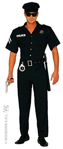 WIDMANN Widman - Disfraz de policía para hombre, talla 54-56 (3248P)