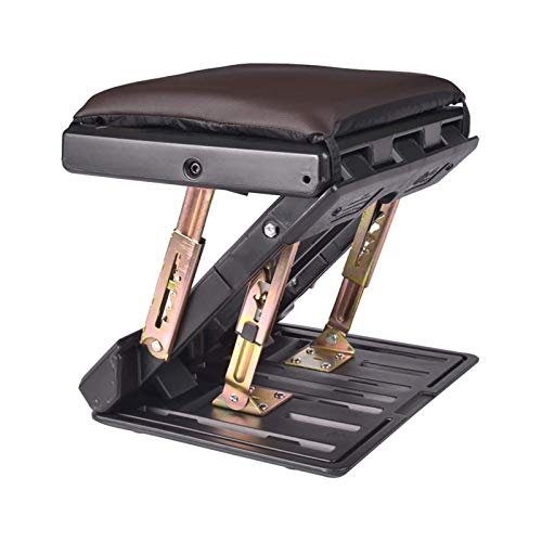 Adjustable Footrest with Removable Soft Pad, Upgraded Adjustable Footrest Under Desk,Ergonomic Foot Rest with Massage Function for Car,Under Desk, Home, Train,4-Level Height Adjustment