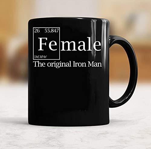 N\A Taza de café The Original Iron Man para Mujer