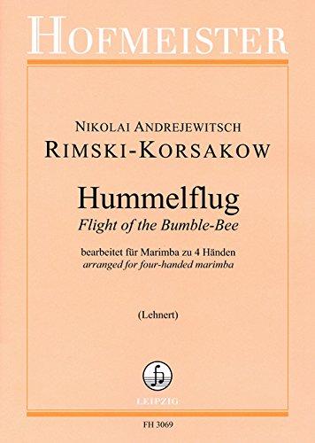 Hummelflug: Marimba 4-hd. / 5