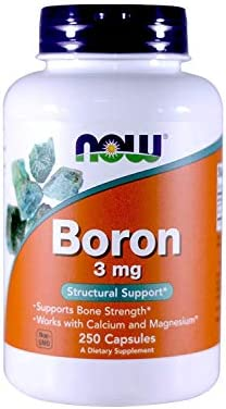 Now Foods Boron, 100 Capsules / 3 Mg