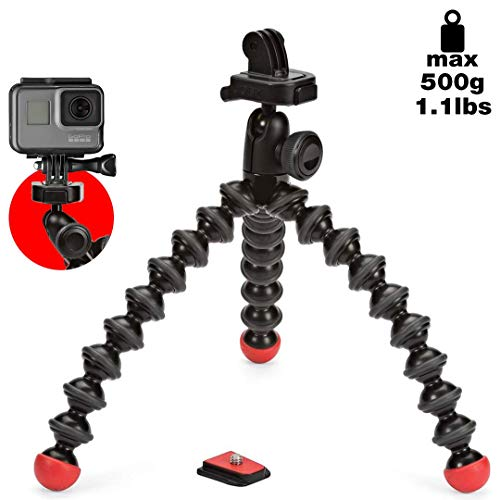 JOBY GorillaPod Action Video Tripod - A Strong, Flexible, Lightweight...