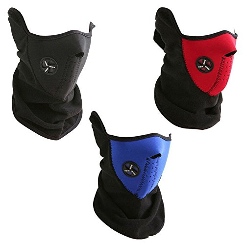 Ski Mask Neck Warmer / Outdoor Sports Mask - Red
