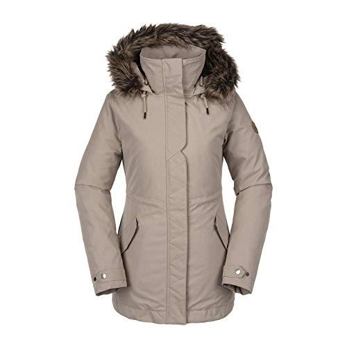 Volcom – Skijacke/Snow Ryn Parka Beige Damen – Beige S beige