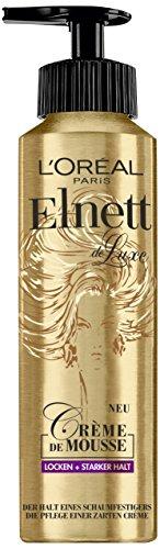 Espuma L'Oréal Paris Elnett Crème de Mousse, 200 ml