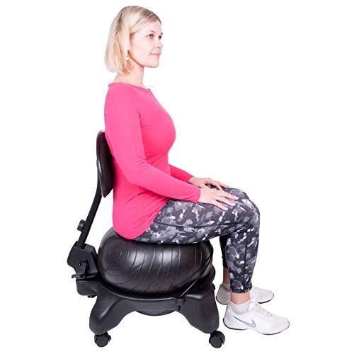 Triway Balance Ball Ballstuhl inSPORTline G-Chair Professional