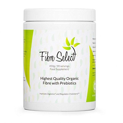 FIBER SELECT - The Best drinkable Vital Fiber for Cleaning The Organism of Toxins, Purification, Detoxification, Slimming, Good for Skin, Hair and Fingernails, 450 g / 90 Servings