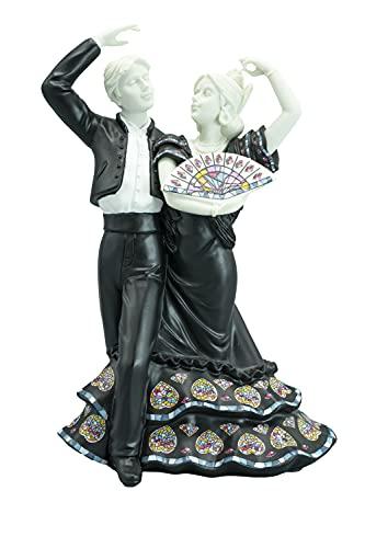 Nadal Figura Decorativa Baile Flamenco Mediano, Resina, Multicolor, 9.00x15.00x20.00 cm
