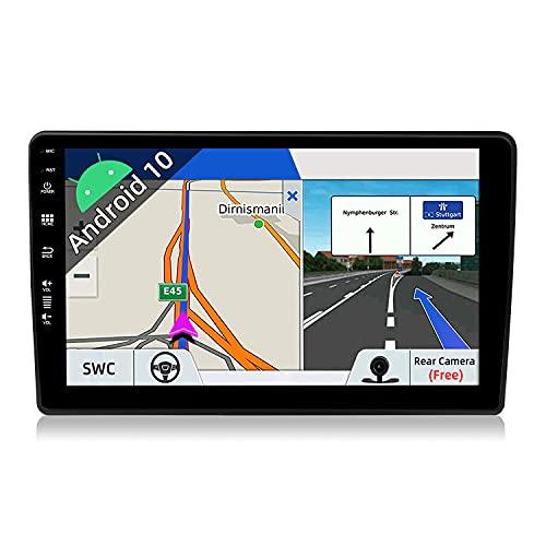 JOYX Android 10 Autoradio Para Audi A4 (2003-2011) - [2G+32G] - GRATIS Cámara trasera Canbus - 9 Pulgada 2.5D Pantalla - 2 Din - Apoyo DAB 4G WLAN Bluetooth5.0 Carplay Control del Volante Android Auto