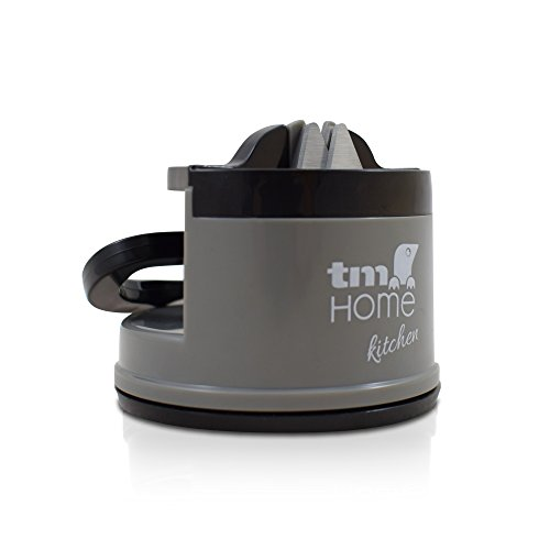 TM Electron  Afilador de Cuchillos Profesional de Carburo de Tungsteno con fijación de seguirdad por ventosa