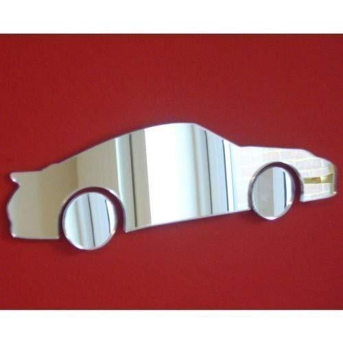 Sendmeamirror Porsche (Ältere) Stil Spiegel 12cm x 7cm