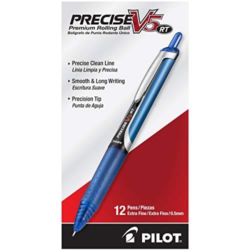 PILOT Precise V5 Stick Liquid Ink Rolling Ball Stick Pens