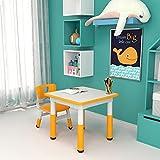 Kinderzimmertisch & -stuhlsets Grünes Kindertisch- Und Stuhlset, Der Desktop Kann Bilder Zeichnen Und Ist Leicht Zu Reinigen, Multifunktionaler Hubtisch (Size : Style1)