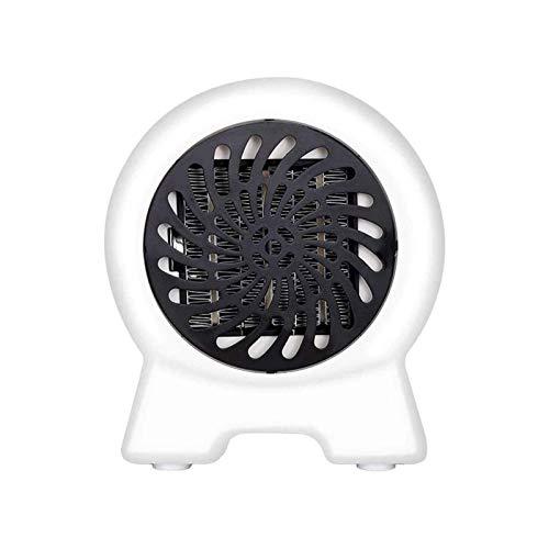 Calentadores espaciales, Conveniente calentador eléctrico Inicio Oficina de dormitorio silenciosa Calefacción rápido Pequeño ventilador eléctrico Mini calentador (color: blanco) ( Color : White )