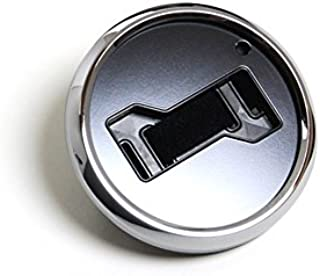 GoBadges MS002 Magnetic Chrome Grill Badge Holder/Universal FIT/No Tools Required/Weather-Proof and Car-wash Safe