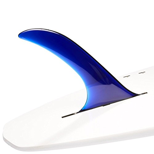 DORSAL Pintail Single Surf Sup Longboard Surfboard Fins (Flex) - Blue