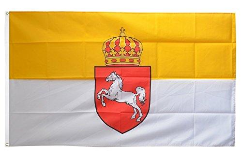 Flaggenfritze Fahne/Flagge Deutschland Königreich Hannover 1814-1866 + gratis Sticker