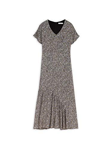 Sandwich Damen Langes Kleid mit Print