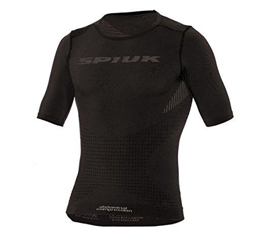 Spiuk Top Ten Camiseta Térmica, Unisex Adulto, Negro, S/M