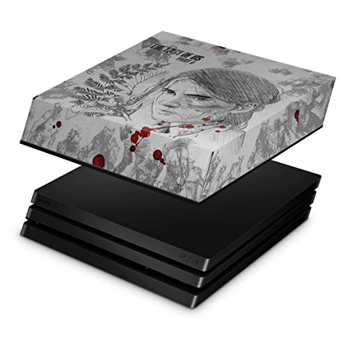 Capa Anti Poeira para PS4 Pro - The Last Of Us Part 2 II